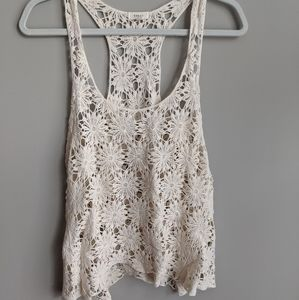 Modcloth Crochet Tank Top